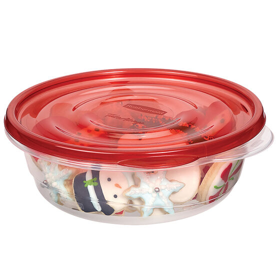Rubbermaid TakeAlongs Round - 5 cup - 3 pack