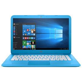 HP Stream 14-cb102ca Laptop Computer  - Blue - 14 Inch - Intel Pentium - 4JC78UA#ABL