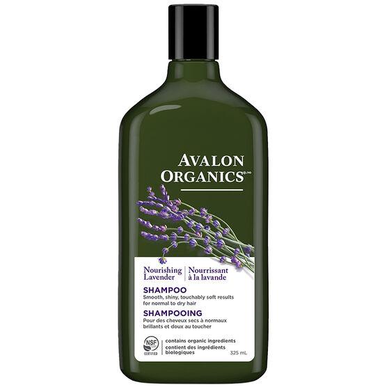 Avalon Organics Nourishing Shampoo - Lavender - 325ml
