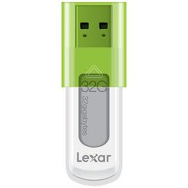 Lexar 32GB JumpDrive S50 USB Flash Drive - White - LJDS50-32GASBNA