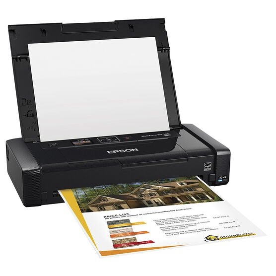Epson WorkForce WF-100 Wireless Mobile Printer - C11CE05201