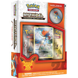 Pokemon 20th Anniversary Mythical Keldeo Box