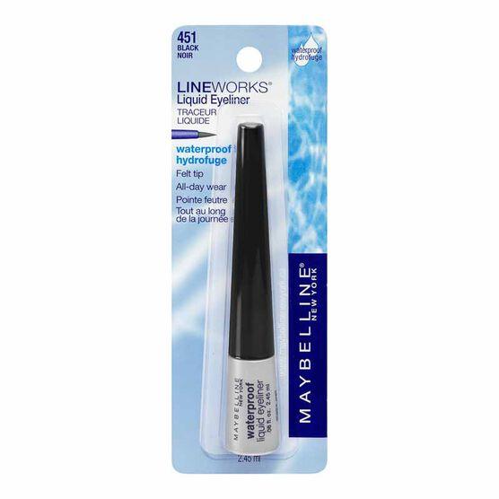 Maybelline Waterproof Liquid Eyeliner - Black