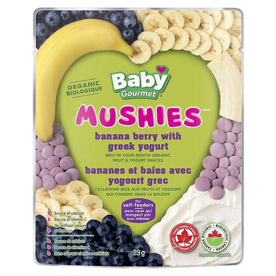 Baby Gourmet Mushies - Banana Berry with Greek Yogurt - 23g