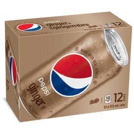 Pepsi Ginger Cola - 12 pack
