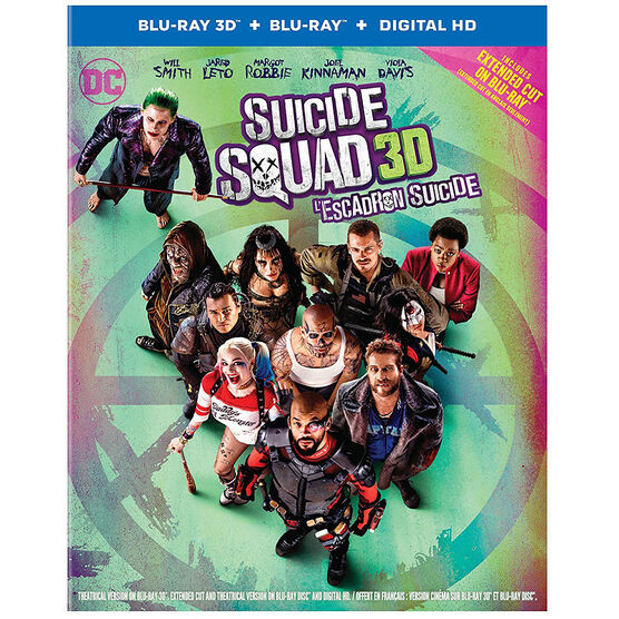 Suicide Squad - 3D Blu-ray