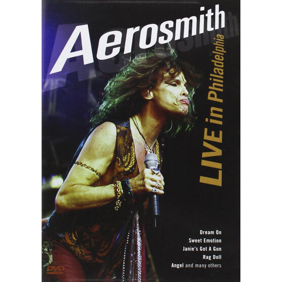 Aerosmith: Live in Philadelphia - DVD