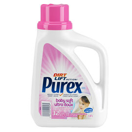 Purex 2X Ultra Baby Soft Liquid Laundry Detergent - 1.47L