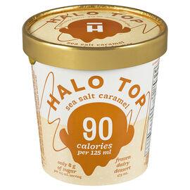 Halo Top Frozen Dairy Dessert - Sea Salted Caramel - 473ml