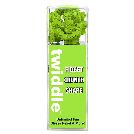 Twiddle Fidget Crunch Shapes - Green