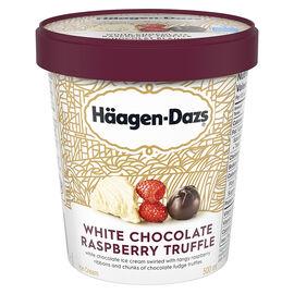 Haagen Dazs - White Chocolate Raspberry Truffle - 500ml
