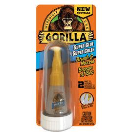 Gorilla Super Glue with Brush -  7510101