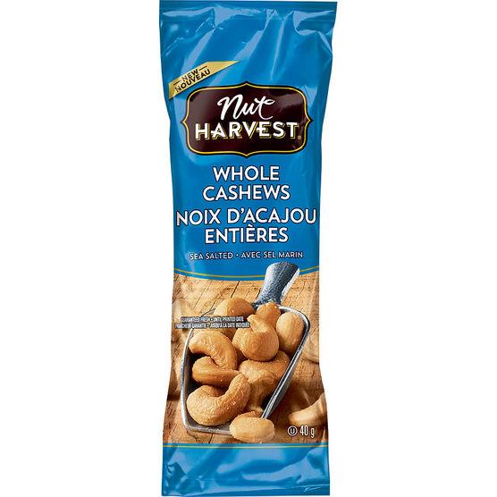 Nut Harvest Cashews - Sea Salt - 40g