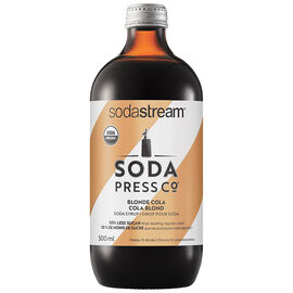 Soda Press Co Organic Soda Syrup - Blonde Cola - 500ml