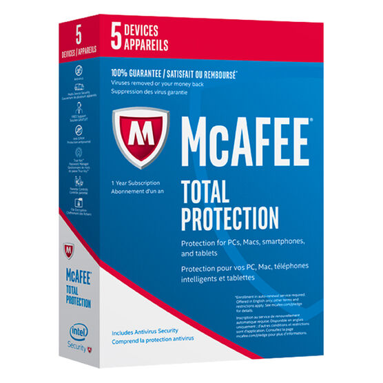 McAfee 2017 Total Protection - 5 Devices