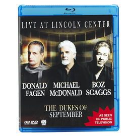 The Dukes Of September - Live At Lincoln Centre - Blu-ray