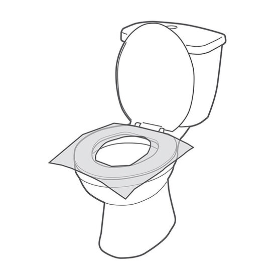 Austin House Toilet Seat Covers - 20 pack - AH33SC91