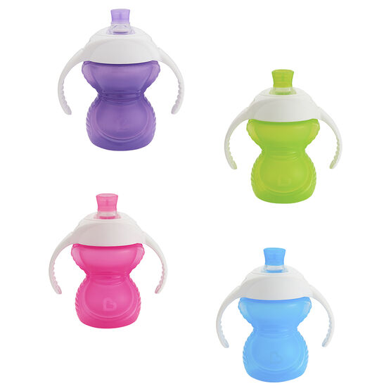 Munchkin Bite-Proof Click Lock Trainer Cup - 207ml - Assorted - 44178