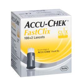 Accu-Check FastClix Lancets - 21332 - 102's