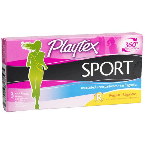 Playtex Sport Tampons - 3's