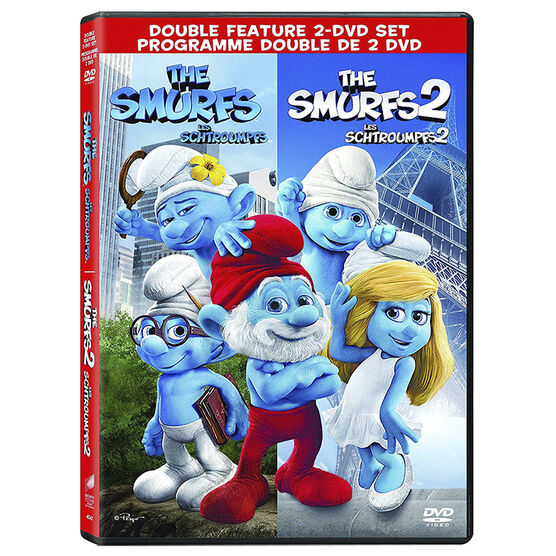 The Smurfs And The Smurfs 2 - Double Feature - 2 DVD