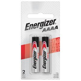 Energizer E2 AAAA Batteries - 2 pack