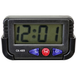 HRS Global Stick-On Clock - Black - CK489