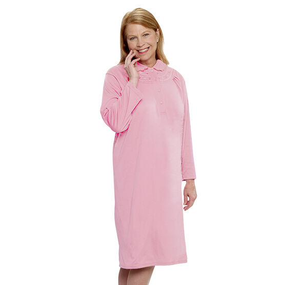 Silvert's Open-Back Knit Nightgown - Medium - XL