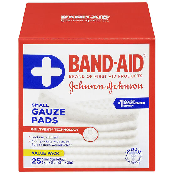Johnson & Johnson Band-Aid Gauze Pad - 5 x 5cm