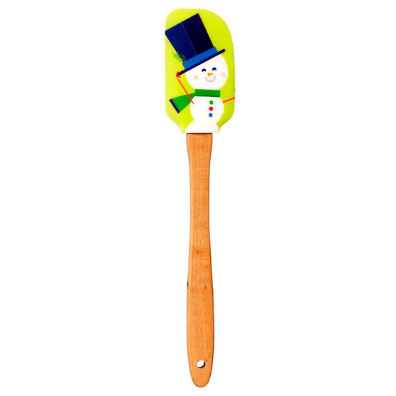 London Drugs Snowman Silicone Spatula - Assorted