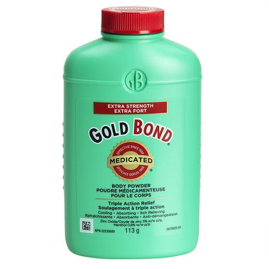 Gold Bond Medicated Body Powder - Extra Strength - 113g