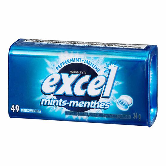Excel Mints - Peppermint - 34g