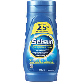 Selsun 2.5% Extra Strength Treatment - 200ml