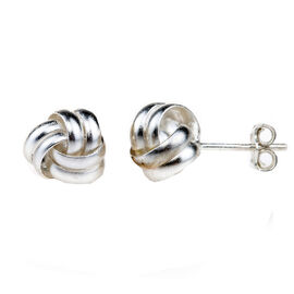 Charisma Sterling Silver Round Cubic Zirconia Earrings