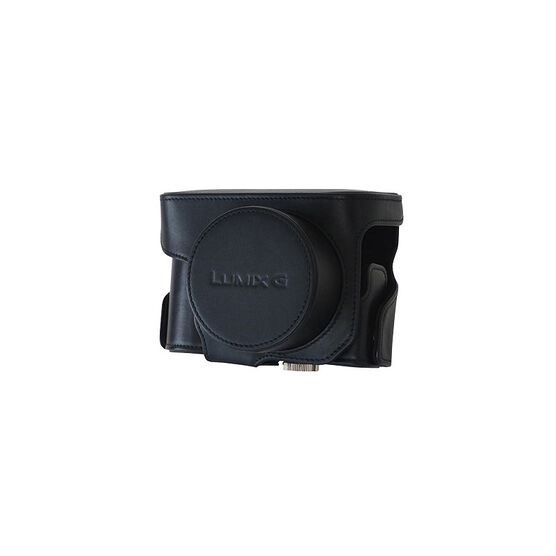 Panasonic ZS100 Leather Case - Black - DMWPHS84XPR
