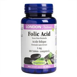 London Naturals Folic Acid Tablets - 1mg - 180's