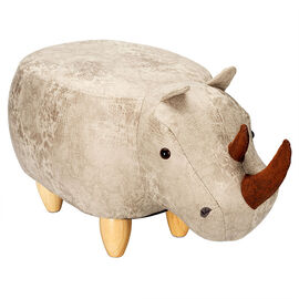 London Drugs Animal Footstool - Rhino