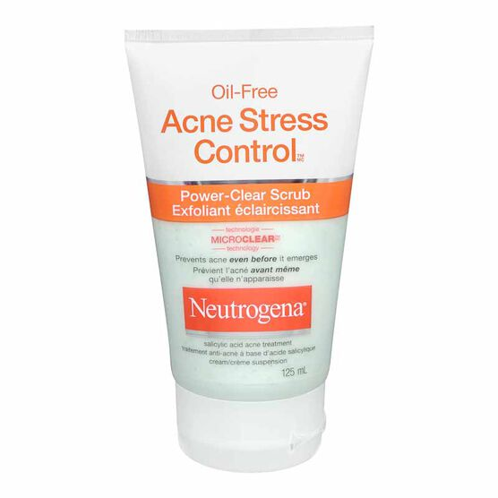 Neutrogena Oil-Free Acne Stress Control Power Clear Scrub - 125ml