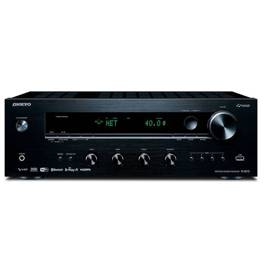 Onkyo Stereo Network Receiver - Black - TX-8270