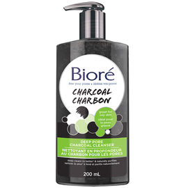 Biore Deep Pore Charcoal Cleanser - 200ml