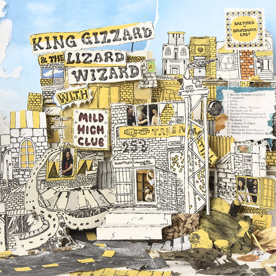 King Gizzard and the Lizard Wizard - Sketches of Brunswick East - Vinyl