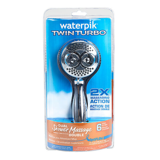 Waterpik Twin Shower Head - DSL-653