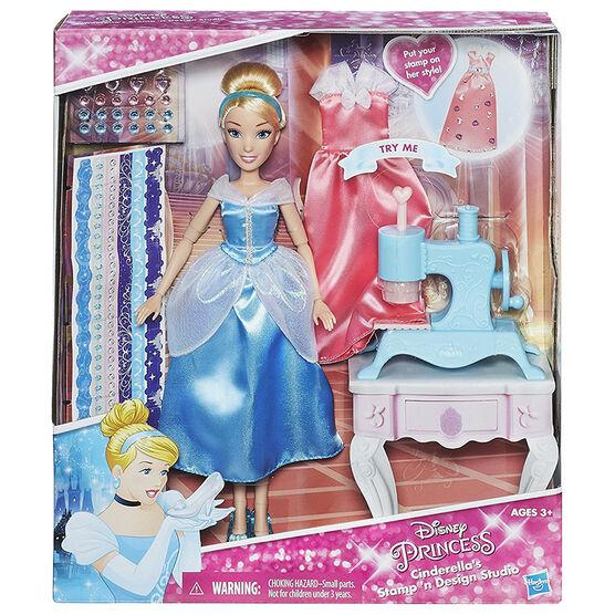 Cinderella's Stamp 'N Design