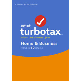 Intuit TurboTax Home and Business 2018 - 12 Returns - 606134