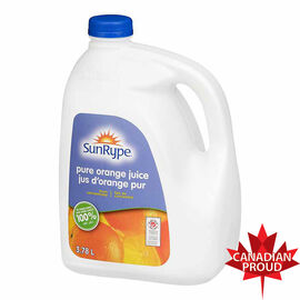 Sun-Rype Pure Orange Juiice - 3.78L