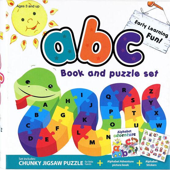 ABC Book & Puzzle Set