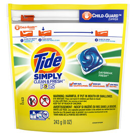 Tide Simply Clean & Fresh Pods - Daybreak Fresh - 13's