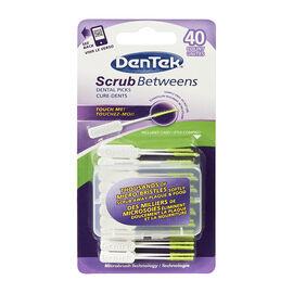 Dentek Scrub Betweens Dental Picks - 40's