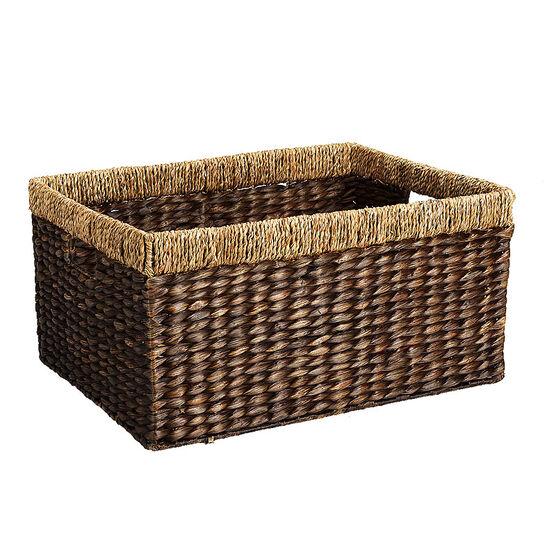 London Drugs Water Hyacinth Seagrass Basket - Rectangle