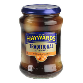 Haywards Traditional Pickled Onions - Medium & Tangy - 375ml